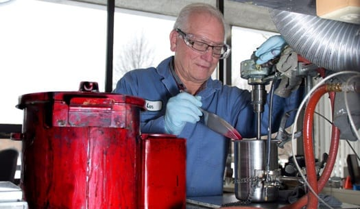 custom formulation for industrial coatings