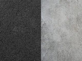 asphalt vs. concrete
