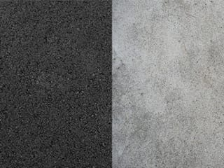 asphalt vs. concrete