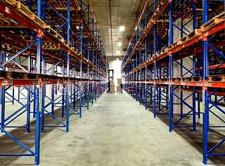 liquid industrial coating for warehousing racks