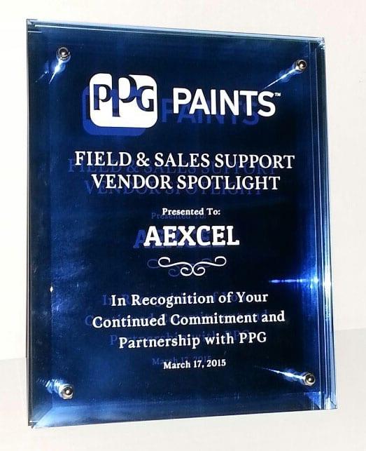 PPG Vendor Award