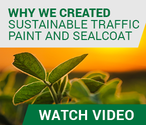 Why we created sustainable traffic paint and sealcoat